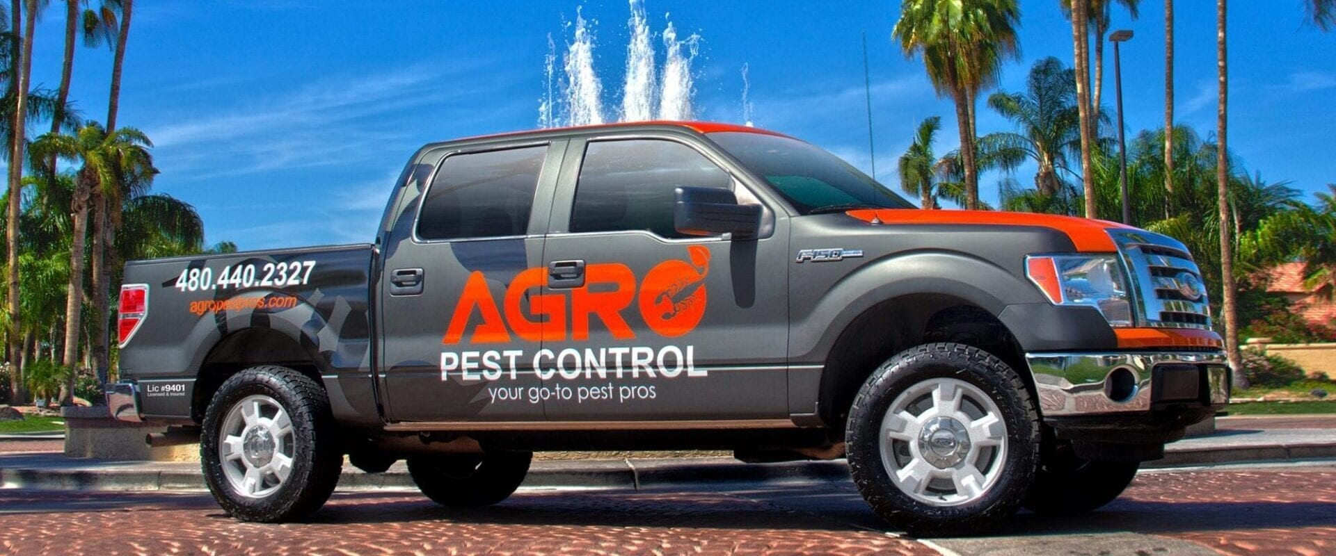 Vehicle Wrap for Pest Control Truck